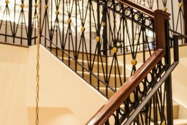 Фото кованных лестниц