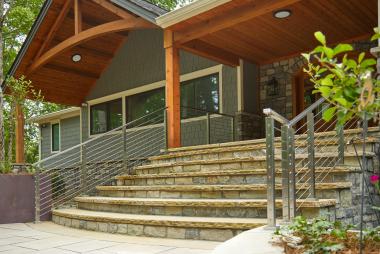 Фото лестниц частном доме